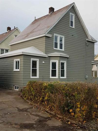 Schenectady Single Family Home For Sale: 1846 Avenue A