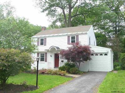 Niskayuna Single Family Home For Sale: 1437 Clifton Park Rd