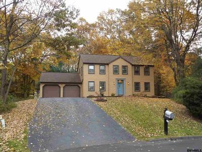 Clifton Park Single Family Home For Sale: 16 Woods Way