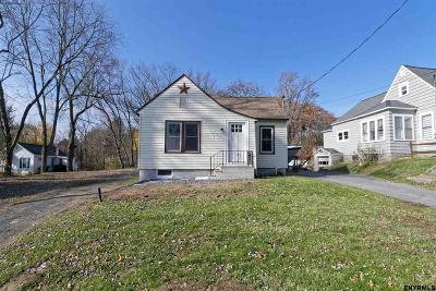 Schenectady Single Family Home Price Change: 579 Sacandaga Rd