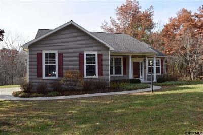 Rensselaer County Single Family Home For Sale: 47 New Rd