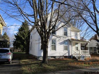 Rensselaer County Single Family Home For Sale: 90 Pleasant Av