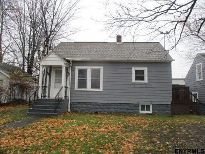 Troy Single Family Home Price Change: 103 McChesney Av