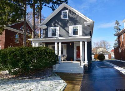 Schenectady Single Family Home New: 809 Wright Av