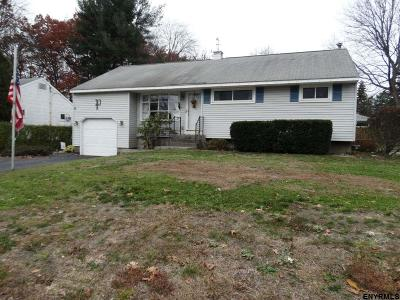 Colonie Single Family Home For Sale: 94 Wilkins Av