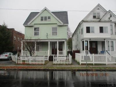 Troy NY Single Family Home New: $55,000