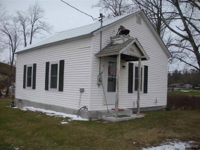 Hebron NY Single Family Home New: $68,000