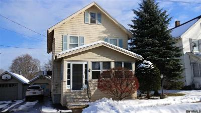 Gloversville NY Single Family Home For Sale: $49,900