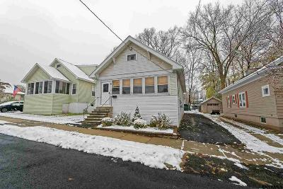 Mechanicville, Stillwater Single Family Home For Sale: 8 Riverside Pk South