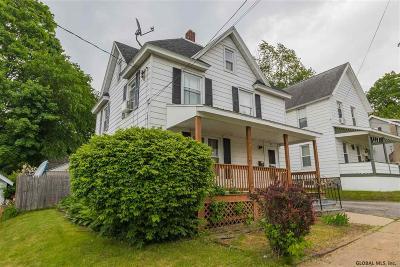 Gloversville NY Single Family Home Back On Market: $64,500