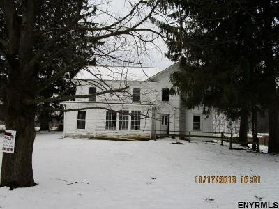 Rensselaer County Single Family Home For Auction: 21 Harken Hollow Rd