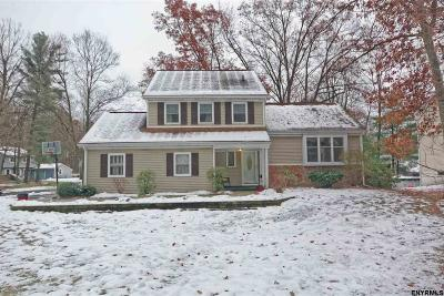 Clifton Park Single Family Home For Sale: 21 Southbury Rd