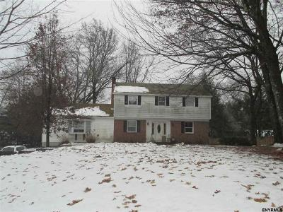 Clifton Park Single Family Home For Sale: 4 Manor Ct