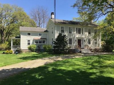 Columbia County Single Family Home For Sale: 98 Albany Av