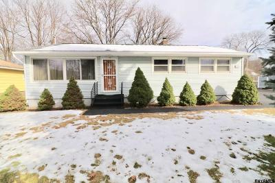 East Greenbush Single Family Home For Sale: 1412 Red Mill Rd