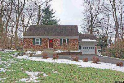 Niskayuna Single Family Home For Sale: 1836 Union St