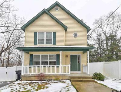Albany, Amsterdam, Cohoes, Glens Falls, Gloversville, Hudson, Johnstown, Mechanicville, Rensselaer, Saratoga Springs, Schenectady, Troy, Watervliet Single Family Home For Sale: 59 Brookview Av