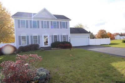 Clifton Park Single Family Home For Sale: 8 Sundial Pl