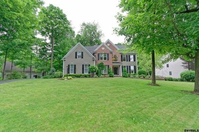 Clifton Park Single Family Home For Sale: 96 Ave Of The Oaks