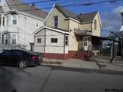 Schenectady Single Family Home For Sale: 345 Duane Av