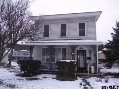 Schoharie County Single Family Home For Sale: 109 Lark St