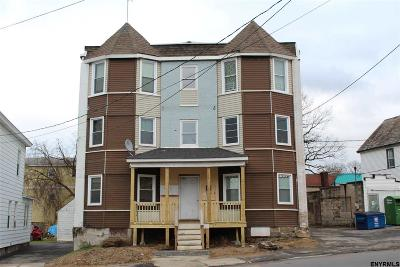 Schenectady Multi Family Home For Sale: 709 Crane St
