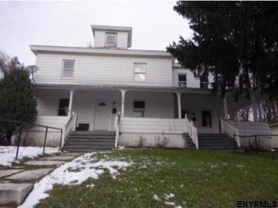 Amsterdam NY Multi Family Home For Sale: $72,000