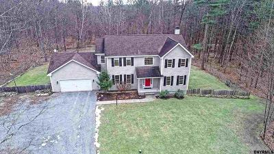 Albany County, Columbia County, Greene County, Fulton County, Montgomery County, Rensselaer County, Saratoga County, Schenectady County, Schoharie County, Warren County, Washington County Single Family Home New: 163 Stone Church Rd