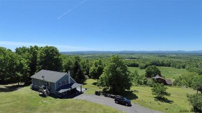 Albany County, Columbia County, Greene County, Fulton County, Montgomery County, Rensselaer County, Saratoga County, Schenectady County, Schoharie County, Warren County, Washington County Single Family Home New: 22 Butch Hill Way