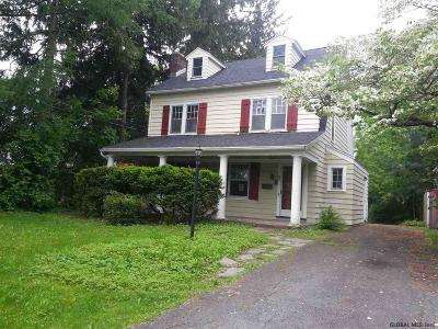 Albany NY Single Family Home For Sale: $289,900