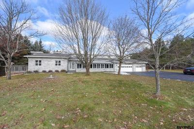 Guilderland Single Family Home For Sale: 357 Settles Hill Rd
