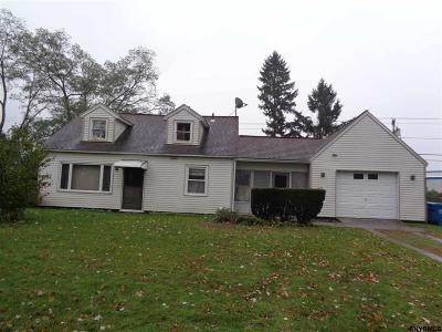 Schenectady County Single Family Home New: 1045 Roberta Rd