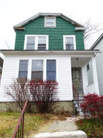 Albany NY Single Family Home For Sale: $98,500