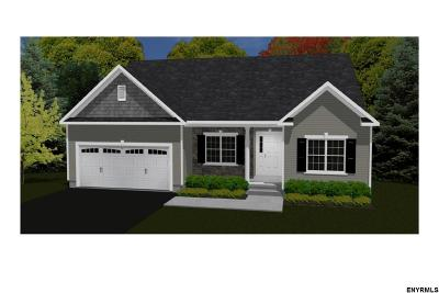 Saratoga County Single Family Home New: Lot 7 Benedict Rd