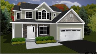 Saratoga County Single Family Home New: Lot 8 Benedict Rd