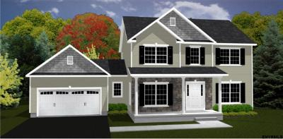 Saratoga County Single Family Home New: Lot 1 Aysimac Ct