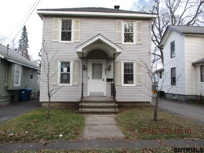 Schenectady County Single Family Home New: 611 Cramer Av