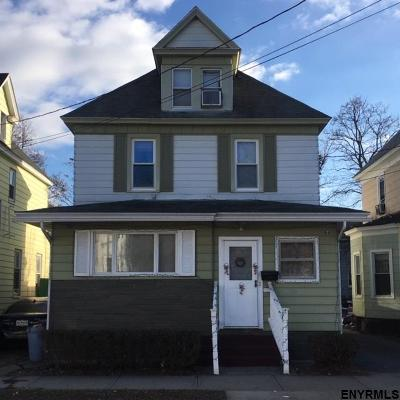 Schenectady County Single Family Home New: 1134 8th Av
