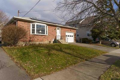 Albany NY Single Family Home For Sale: $139,900