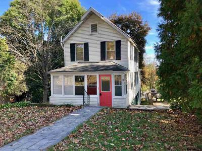 Saratoga County Single Family Home New: 2148 Route 9