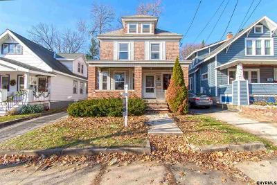 Schenectady Single Family Home New: 805 Rankin Av