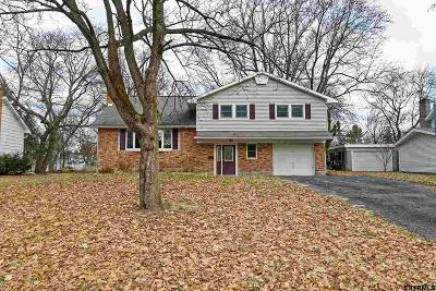 Schenectady County Single Family Home New: 7 Crestwood Dr