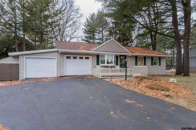 Saratoga County Single Family Home New: 9 Hathorn Blvd