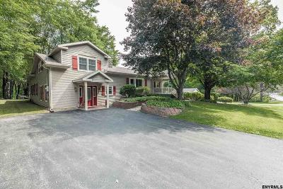 Saratoga County Single Family Home New: 5706 Sacandaga Rd