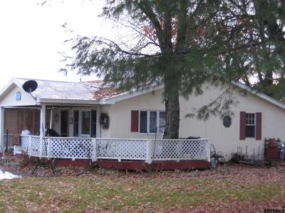 Saratoga County Single Family Home New: 177 County Rd 69