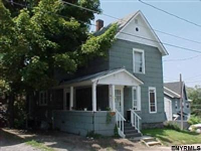 Gloversville NY Single Family Home For Sale: $33,900
