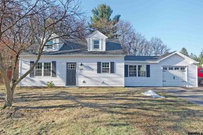 Schenectady County Single Family Home New: 1047 Outer Dr