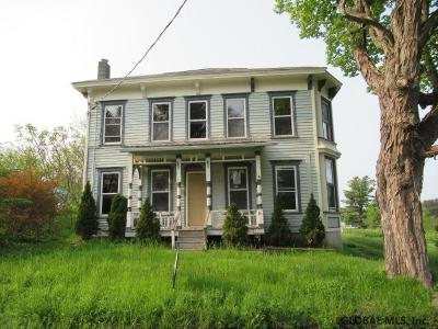 Schoharie County Single Family Home New: 1623 Charlotte Valley Rd