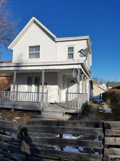 Schenectady Single Family Home For Sale: 1348 Fourth Av