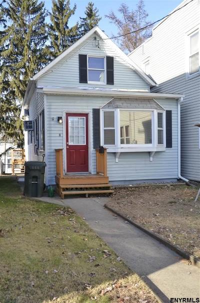 Cohoes Single Family Home For Sale: 60 1st St